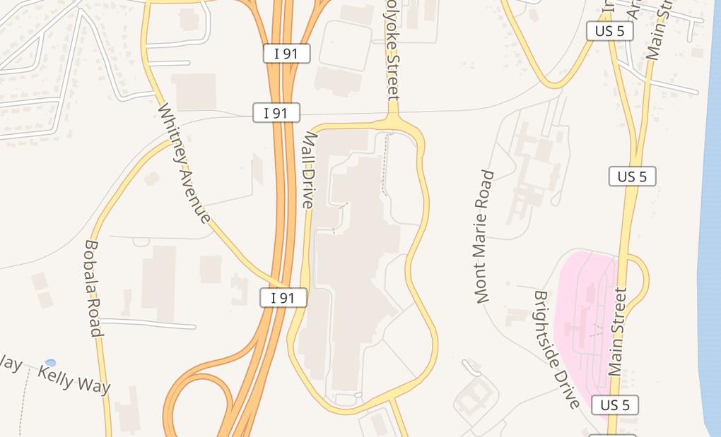 map of 50 Holyoke St # H313Holyoke, MA 01040