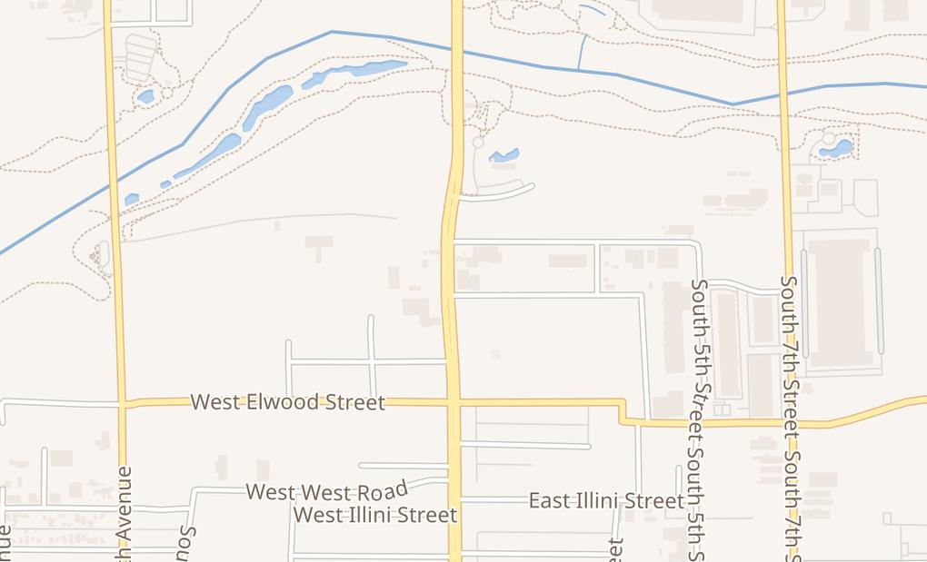 map of 3333 S Central AvePhoenix, AZ 85040
