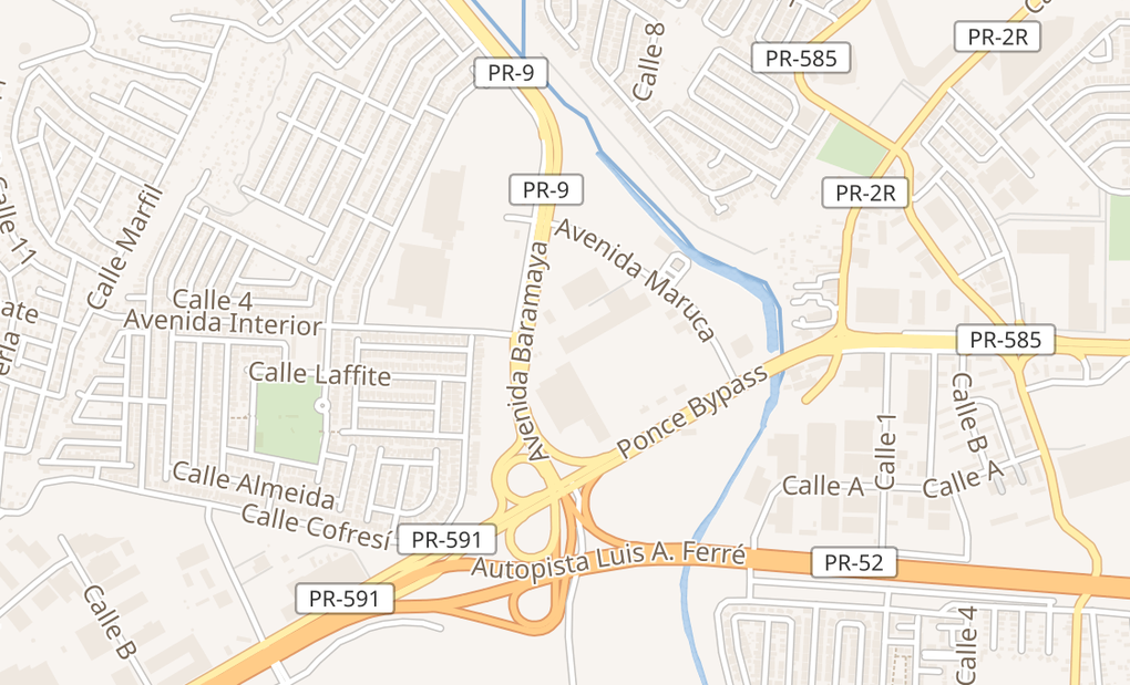 map of 2369 Ponce Bypass Ste 140Ponce, PR 00717