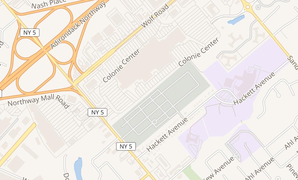 map of 131 Colonie Ctr Spc 311Albany, NY 12205