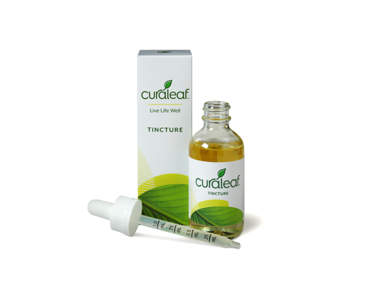 Peppermint-Flavored Tincture 1:1 - 30mL - Curaleaf