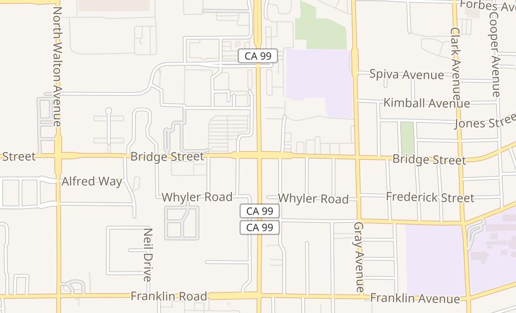 map of 1260 Bridge Street Suite 100Yuba City, CA 95991