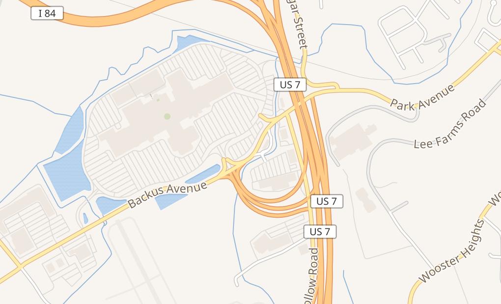 map of 7 Backus Ave Ste 120ADanbury, CT 06810