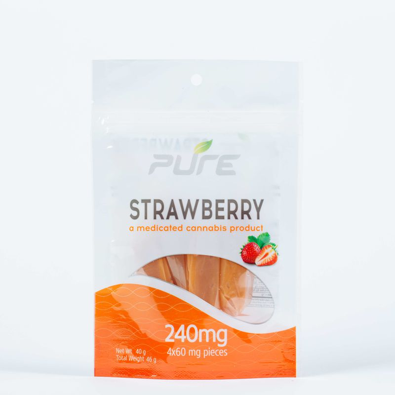 Tootsy Strawberry - 240mg - Pure