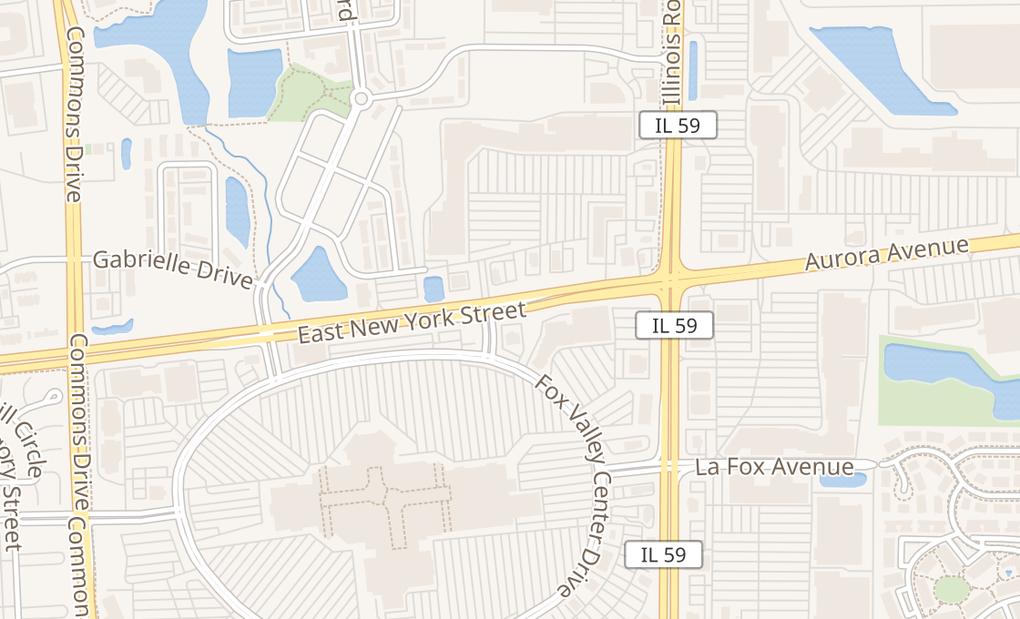 map of 4313 E New York St Ste 111Aurora, IL 60504