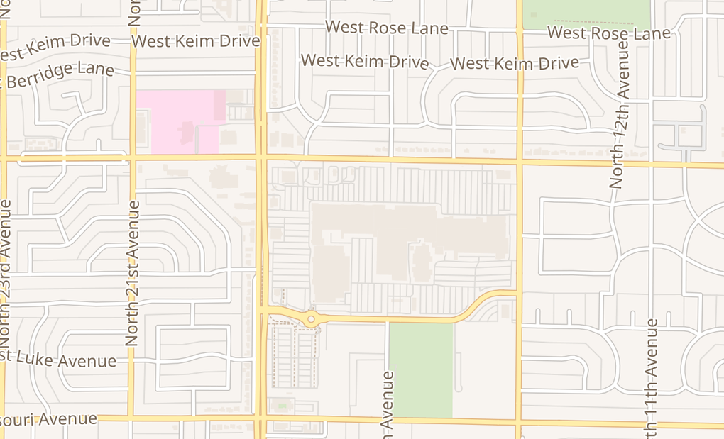 map of 1703 W Bethany Home Rd Ste E02Phoenix, AZ 85015