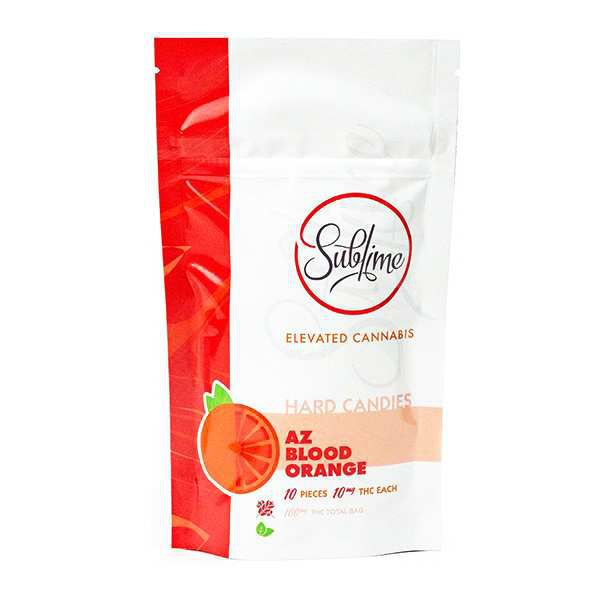 AZ Blood Orange | 100mg | Hard Candy - SUBLIME BRANDS