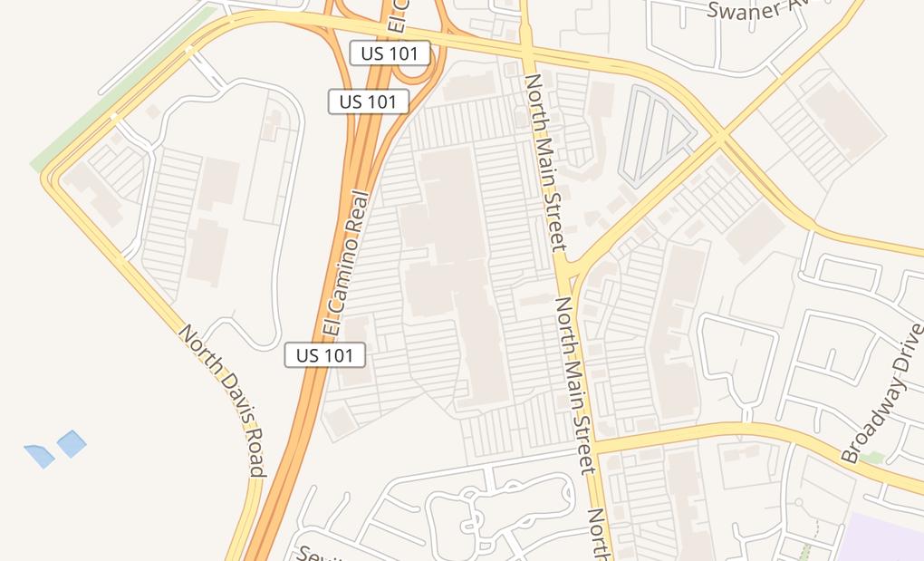 map of 1457 Northridge Shopping Center Spc K02CSalinas, CA 93906
