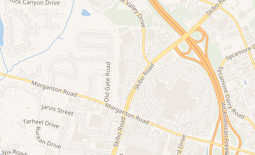map of 1800 Skibo Rd Ste 146Fayetteville, NC 28303