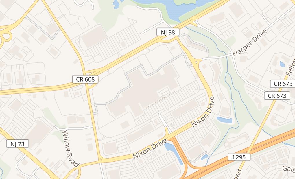 map of 400 W Route 38 Unit 8110Moorestown, NJ 08057