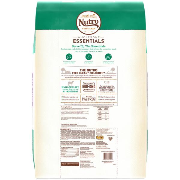 Nutro Wholesome Essentials Small Bites Pasture Fed Lamb Rice