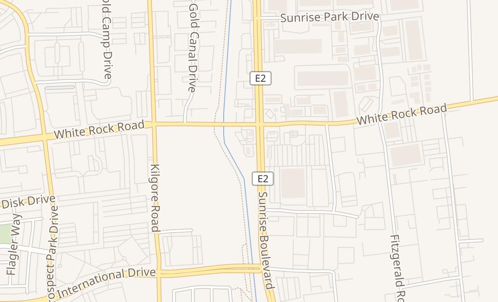 map of 3110 Sunrise Blvd #200Rancho Cordova, CA 95742