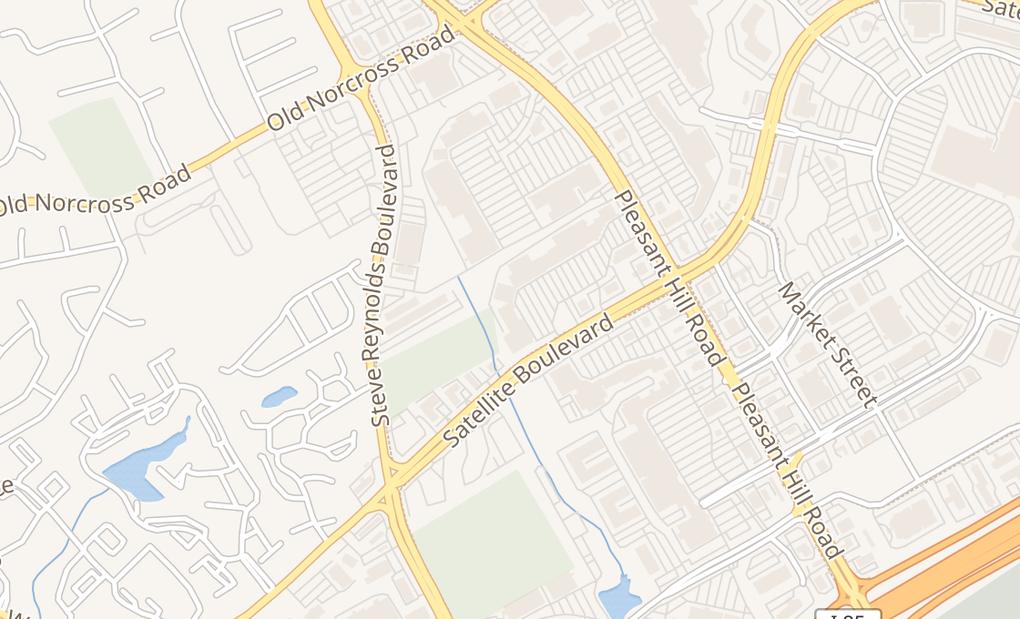 map of 3675 Satellite Blvd Ste 125Duluth, GA 30096
