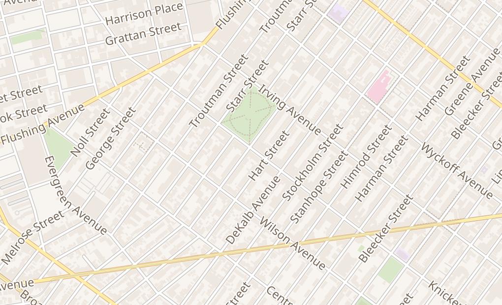 map of 294 Knickerbocker AveBrooklyn, NY 11237