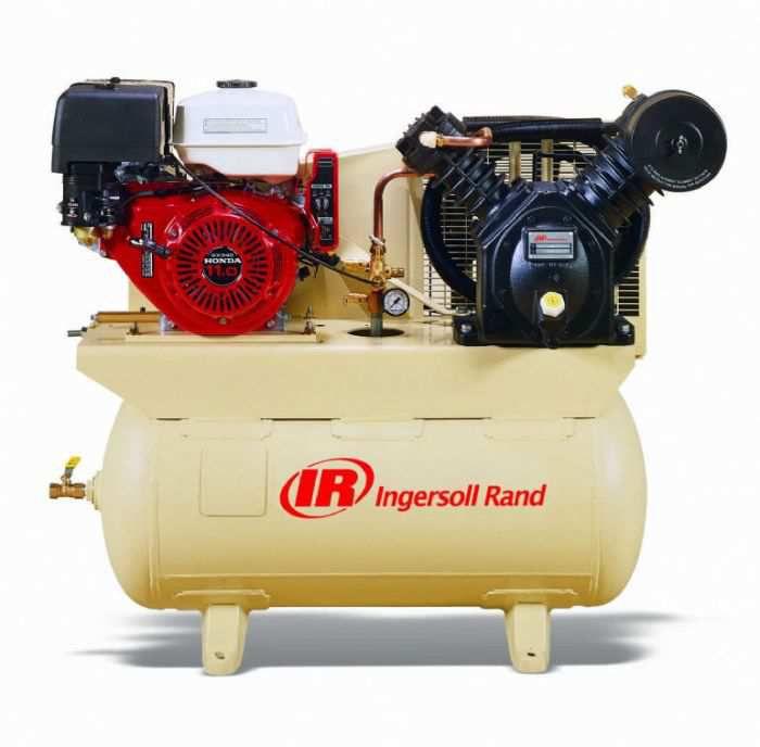 Rural King Air Compressor >> Ingersoll Rand Air Compressor 13hp 30gal Honda 2475f13gh 45466067
