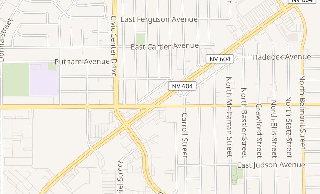 map of 2415 Las Vegas Blvd N Ste 101North Las Vegas, NV 89030