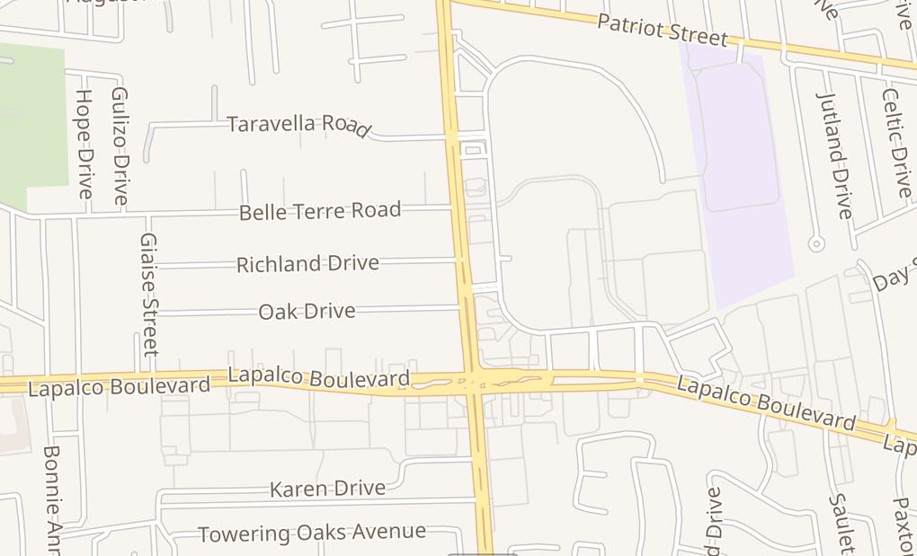 map of 1804 Barataria Blvd Ste DMarrero, LA 70072