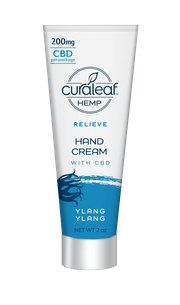 Hemp CBD Hand Cream - Ylang Ylang at Curaleaf Queens