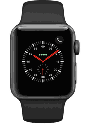 Apple Watch with Sport Band - 42at Sprint Brown Deer